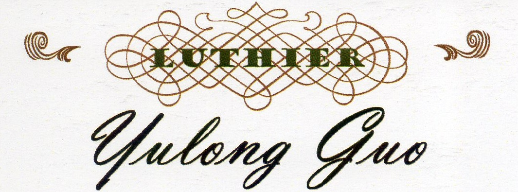 Logo Yulong Guo Guitars